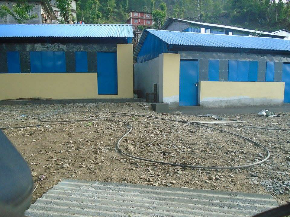 New classroom buildings